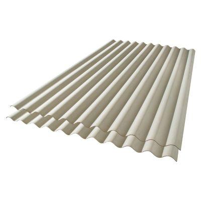 Techo de Perfil 4 mm Gris 1.10 x 3.05 m