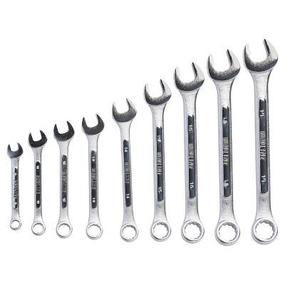 Set de llaves combinadas punta y corona 9 piezas
