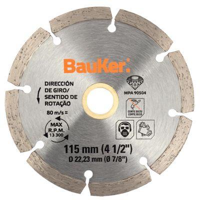 Disco diamantado segmentado para cerámica 115 mm