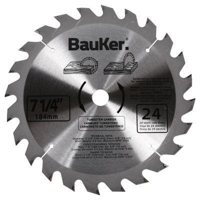 Disco para sierra circular 184 mm 24 dientes para madera