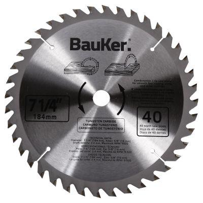 Disco para sierra circular 184 mm 40 dientes para madera