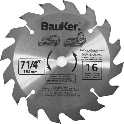 Disco para sierra circular 184 mm 16 dientes para madera