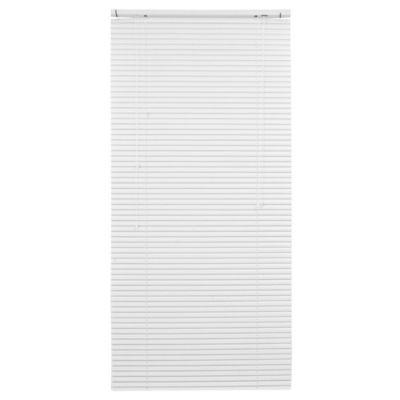 Persiana de aluminio 80 x 165 cm blanca