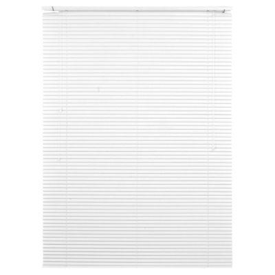 Persiana de aluminio 120 x 165 cm blanca