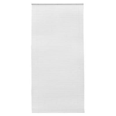 Persiana de aluminio 120 x 250 cm blanca