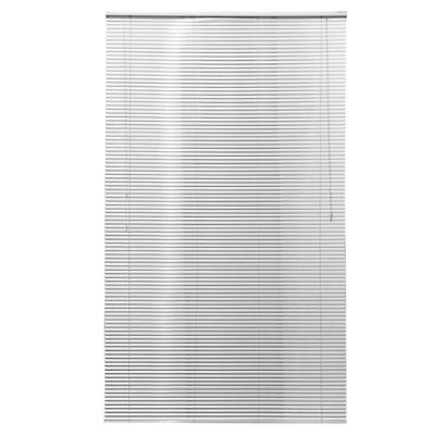 Persiana de aluminio 150 x 250 cm plateada