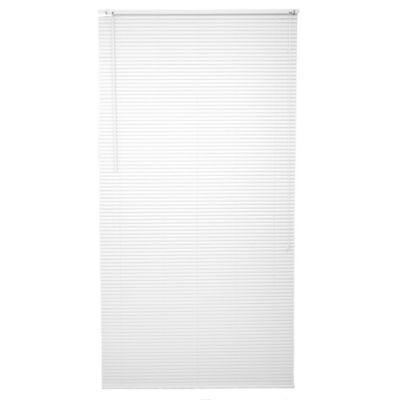 Persiana de PVC 120 x 220 cm blanca