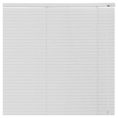 Persiana de PVC 80 x 165 cm blanca