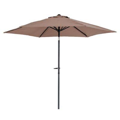 Sombrilla 270 cm marrón