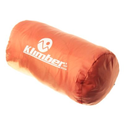 Sobre de dormir con gorro naranja 180 x 75 cm