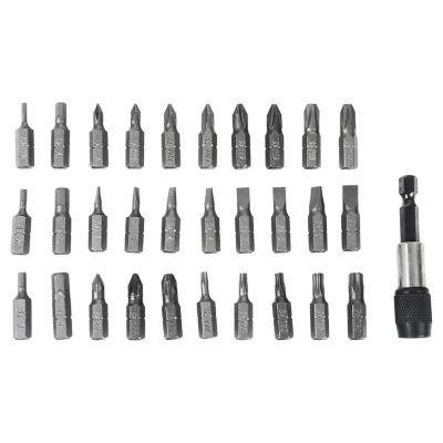 Set de 31 puntas para atornillar 25 mm