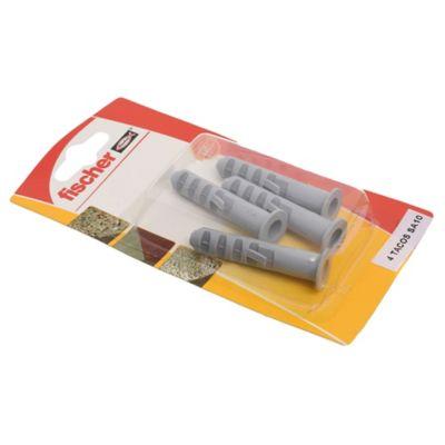 Tarugo con arandela SA10 por 4 unidades
