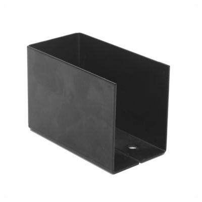 """Caja fija para tirante ángulo interior con agujeros 2 x 4"""""""