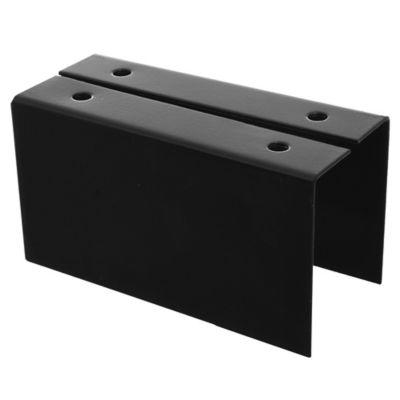 Caja fija para tirante ángulo interior sin agujero 2 x 5 cm
