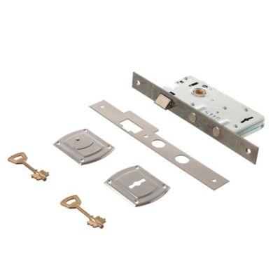 Cerradura para embutir Reforzada de seguridad para puerta exterior 4000
