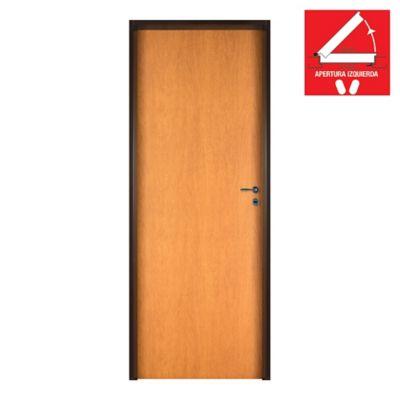 Puerta de interior placa cedro 70 x 200 x 10 cm izquierda