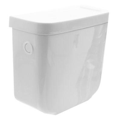 Depósito para inodoro descarga simple Bari blanco