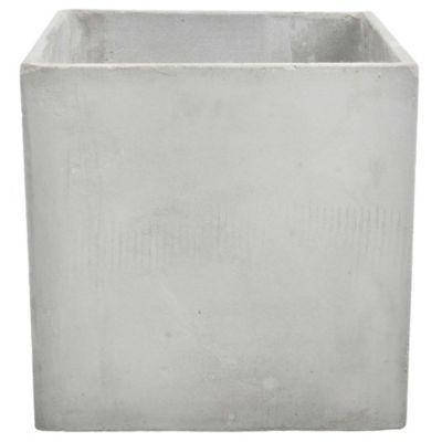 Maceta cubo de fibrocemento 40 x 40 cm