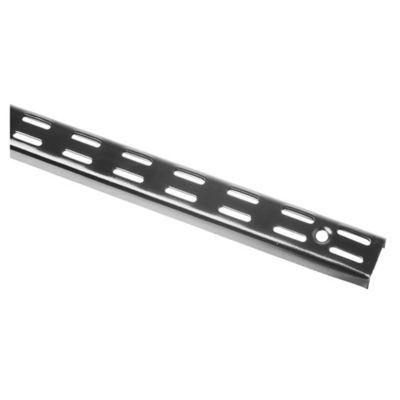 Riel para ménsula Negro 150 cm