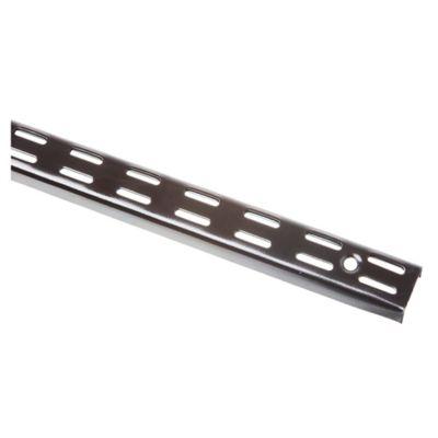 Riel para ménsula Negro 200 cm