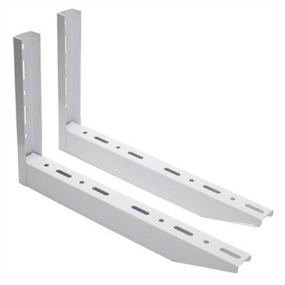 Par soporte de metal blanco 49 cm