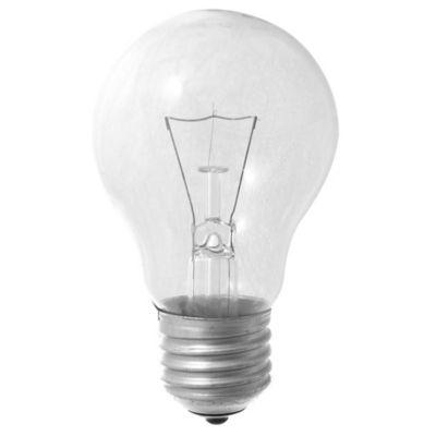Lámpara de luz incandescente E27 60 w cálida