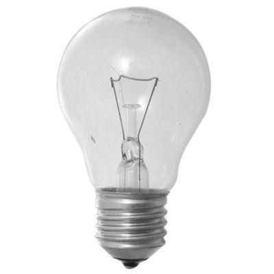 Lámpara de luz incandescente E27 75 w cálida