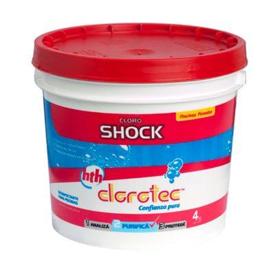 Cloro granulado Shock instantáneo 4 kg
