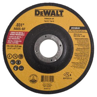 Disco corte metal depr 115 x 0.8 x 22 mm