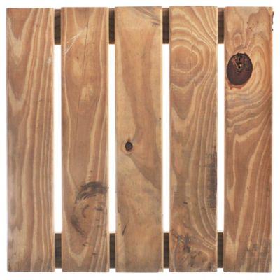 Deck baldosas Impregnado 50 x 50 cm