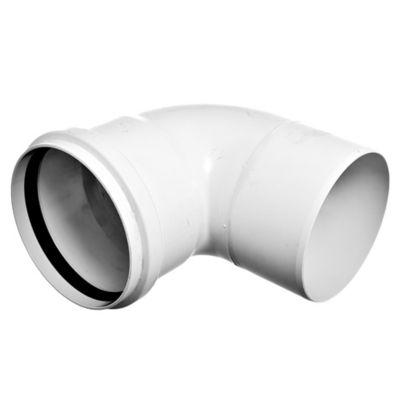 Codo PVC junta elástica 87 30° MH 110 mm