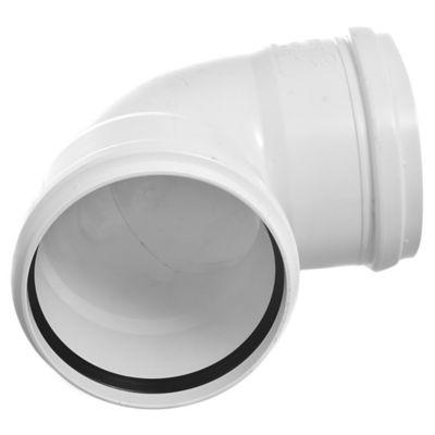 Codo PVC junta elástica 87 30° HH 110 mm
