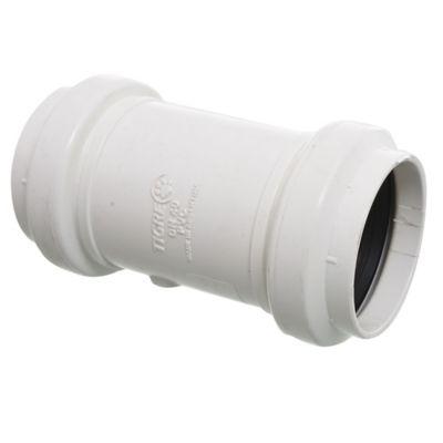 Cupla PVC junta elástica HH 40 mm
