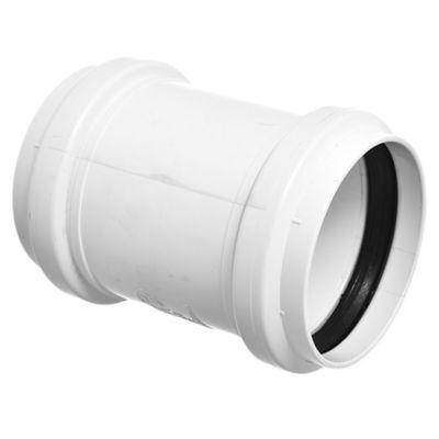 Cupla PVC junta elástica HH 63 mm