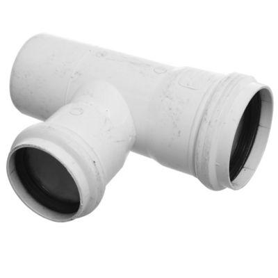 Ramal PVC junta elástica 87 30° 63 x 50 MH
