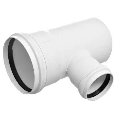 Ramal PVC junta elástica 87 30° 110 x 63 MH