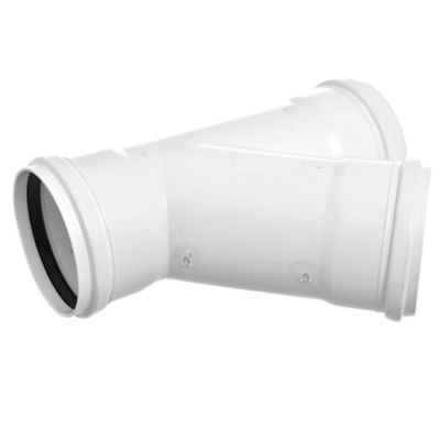 Ramal PVC junta elástica 45° 110 x 110 HH