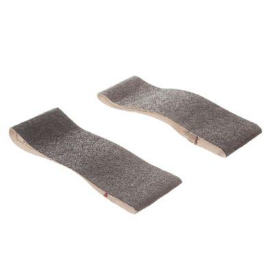 Pack de 2 bandas de lija para madera y metal 75 x 457 mm grano grueso