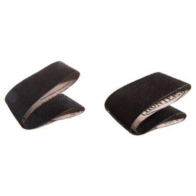 Pack de 2 bandas de lija para madera y metal 75 x 533 mm grano grueso