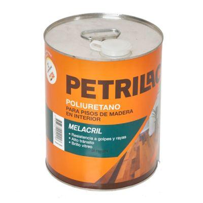 Revestimiento Poliuretánico Melacril para pisos interior brillante 4 L
