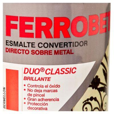 Esmalte Convertidor Ferro Bet Dúo Classic bermellón 500 ml