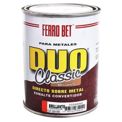 Esmalte Convertidor Ferro Bet Dúo Classic naranja 500 ml