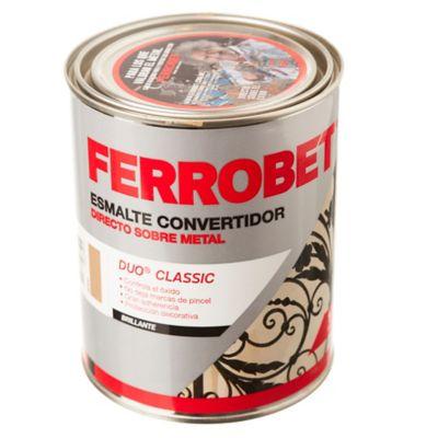 Esmalte Convertidor Ferro Bet Dúo Classic beige 1 L