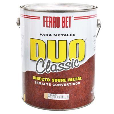Esmalte Convertidor Ferro Bet Dúo Classic beige 4 L
