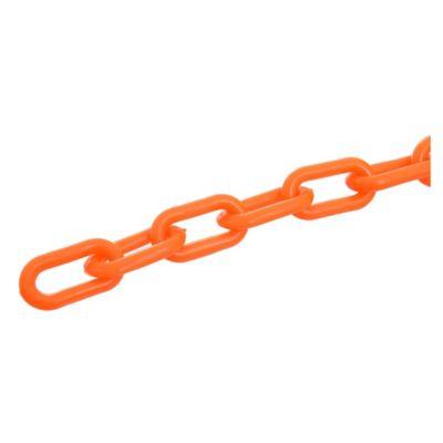 Cadena 3.5 x 2.5 cm Fluo naranja