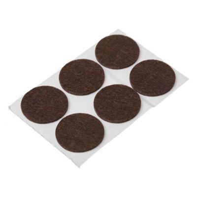 Filtro adhesivo circular 32 mm marrón por 6 unidades