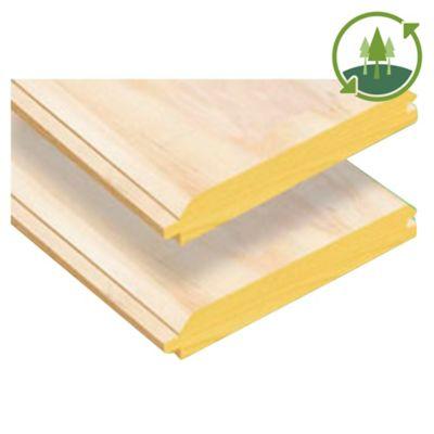 "Lambriz de pino termosellado G1 1/2"" x 5"" x 3,66 m"