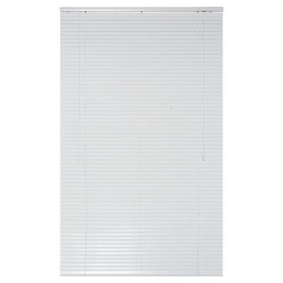 Persiana de aluminio 100 x 165 cm blanca