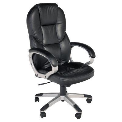 Silla de oficina ejecutiva negra