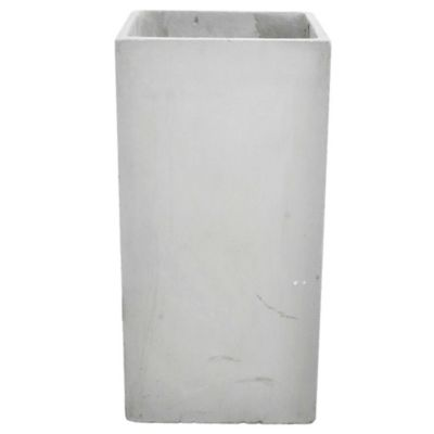 Maceta Prisma de fibrocemento 30 x 30 x 60 cm